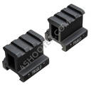 "Adapter unoszący z szyną Picatinny TRUGLO TG8992B RISER MOUNT PICATINNY 1"" - 2 PIECES"